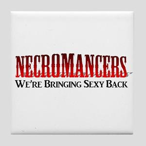 Necromancer Tile Coaster