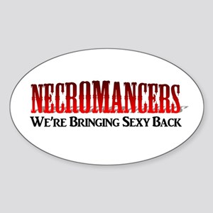 Necromancer Sticker (Oval)