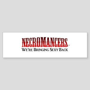 Necromancer Sticker (Bumper)