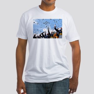 Thunderbirds Over Academy Fitted T-Shirt