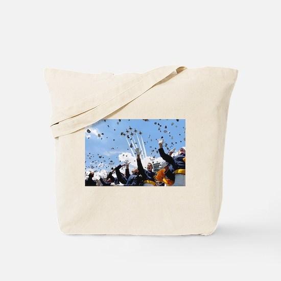 Thunderbirds Over Academy Tote Bag