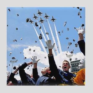 Thunderbirds Over Academy Tile Coaster