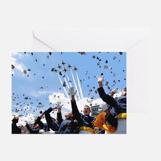 Thunderbirds Over Academy Greeting Cards (Package