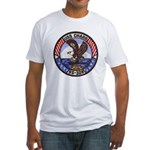 USS CHARR Fitted T-Shirt