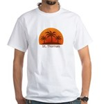 St. Thomas White T-Shirt