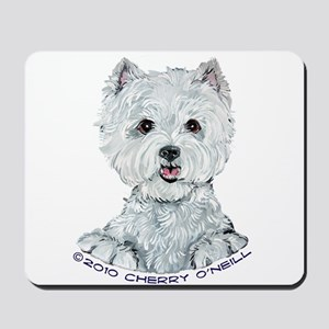 Lovable Westie Mousepad