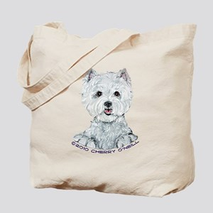Lovable Westie Tote Bag