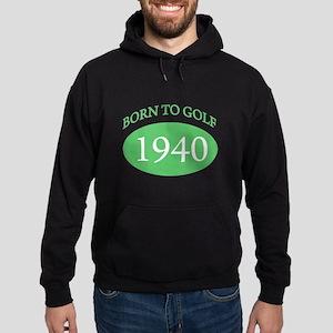 1940 Born To Golf Hoodie (dark)