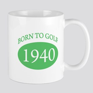 1940 Born To Golf Mug