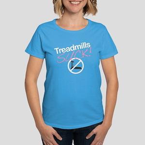 Treadmills Suck Women's Dark T-Shirt