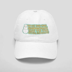 Lost Snowman Joke Cap