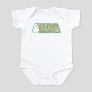 Lost Snowman Joke Infant Bodysuit