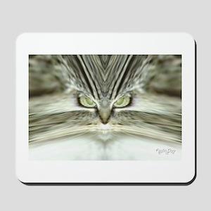 'Alien Tabby Cat' Horizontal Mousepad / Mouse Pad