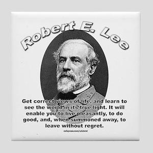 Robert E. Lee 01 Tile Coaster