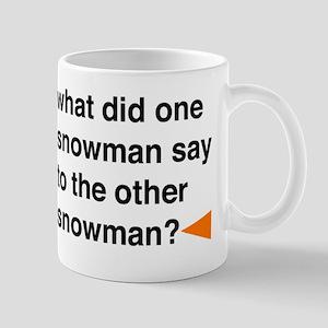 Snowman Joke Mug