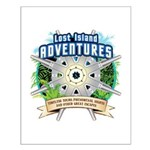 Lost Island Adventures Small Poster
