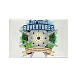 Lost Island Adventures Rectangle Magnet (100 pack)