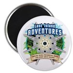 Lost Island Adventures Magnet