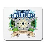 Lost Island Adventures Mousepad