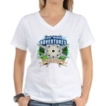 Lost Island Adventures Women's V-Neck T-Shirt