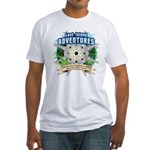 Lost Island Adventures Fitted T-Shirt