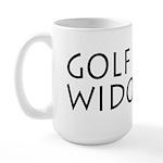 GOLF WIDOW Large Mug