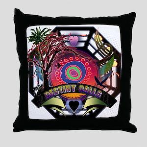 Lost Oceanic Dharma Destiny Throw Pillow