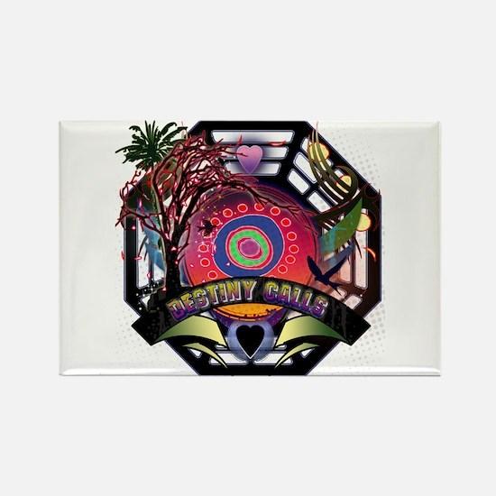 Lost Oceanic Dharma Destiny Rectangle Magnet
