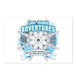 Lost Island Adventures Postcards (Package of 8)