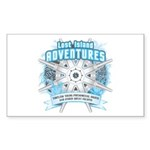 Lost Island Adventures Sticker (Rectangle 10 pk)