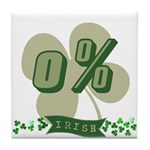 0% Irish Tile Coaster