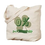 0% Irish Tote Bag