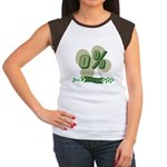 0% Irish Women's Cap Sleeve T-Shirt