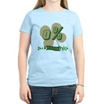 0% Irish Women's Light T-Shirt