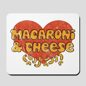 Macaroni & Cheese Mousepad