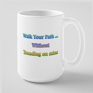 Walk Your Path Tall Mug