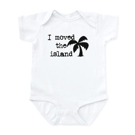 I Moved the Island Infant Bodysuit