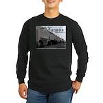 Sunset District Long Sleeve Dark T-Shirt