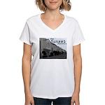 Sunset District Women's V-Neck T-Shirt