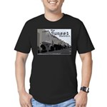 Sunset District Men's Fitted T-Shirt (dark)