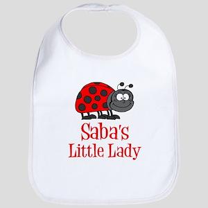 Saba's Little Lady Baby Bib