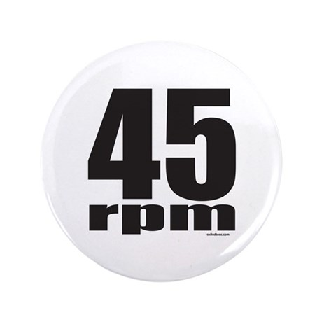 """45 RPM 3.5"""" Button (100 pack)"""