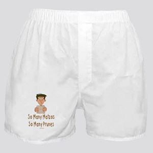 So Many Matzos Passover Boxer Shorts