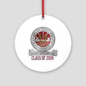 Winston University - Class of 2009 Ornament (Round