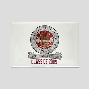 Winston University - Class of 2009 Rectangle Magne