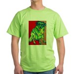 Amy's Dog Green T-Shirt