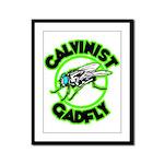 Calvinist Gadfly Framed Panel Print