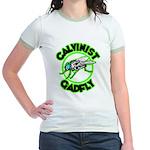 Calvinist Gadfly Jr. Ringer T-Shirt