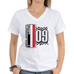 Race Flags M Women's V-Neck T-Shirt