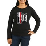 Race Flags M Women's Long Sleeve Dark T-Shirt